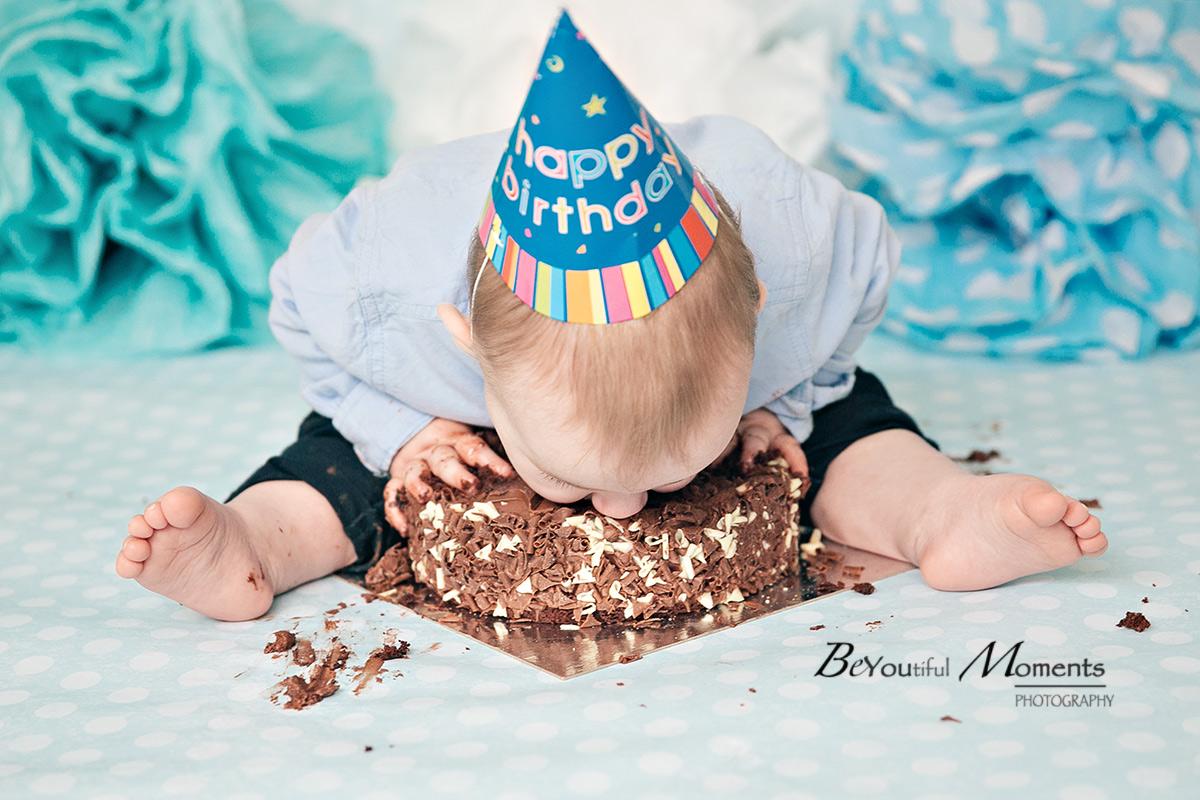 Smash a Cake photoshoot