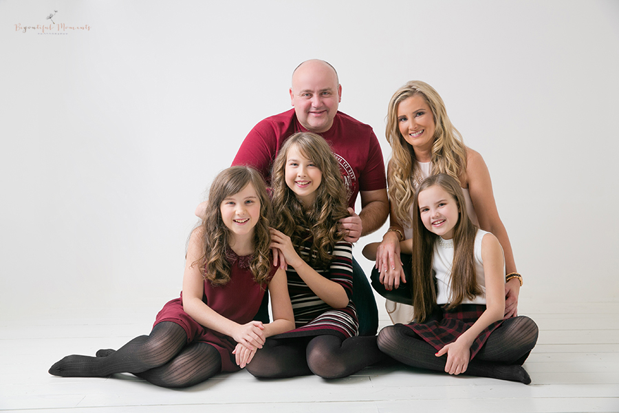 Family, Portrait, Studio, Photography